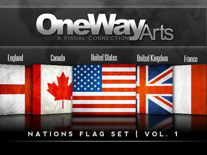 NATIONS FLAG SET VOL 1