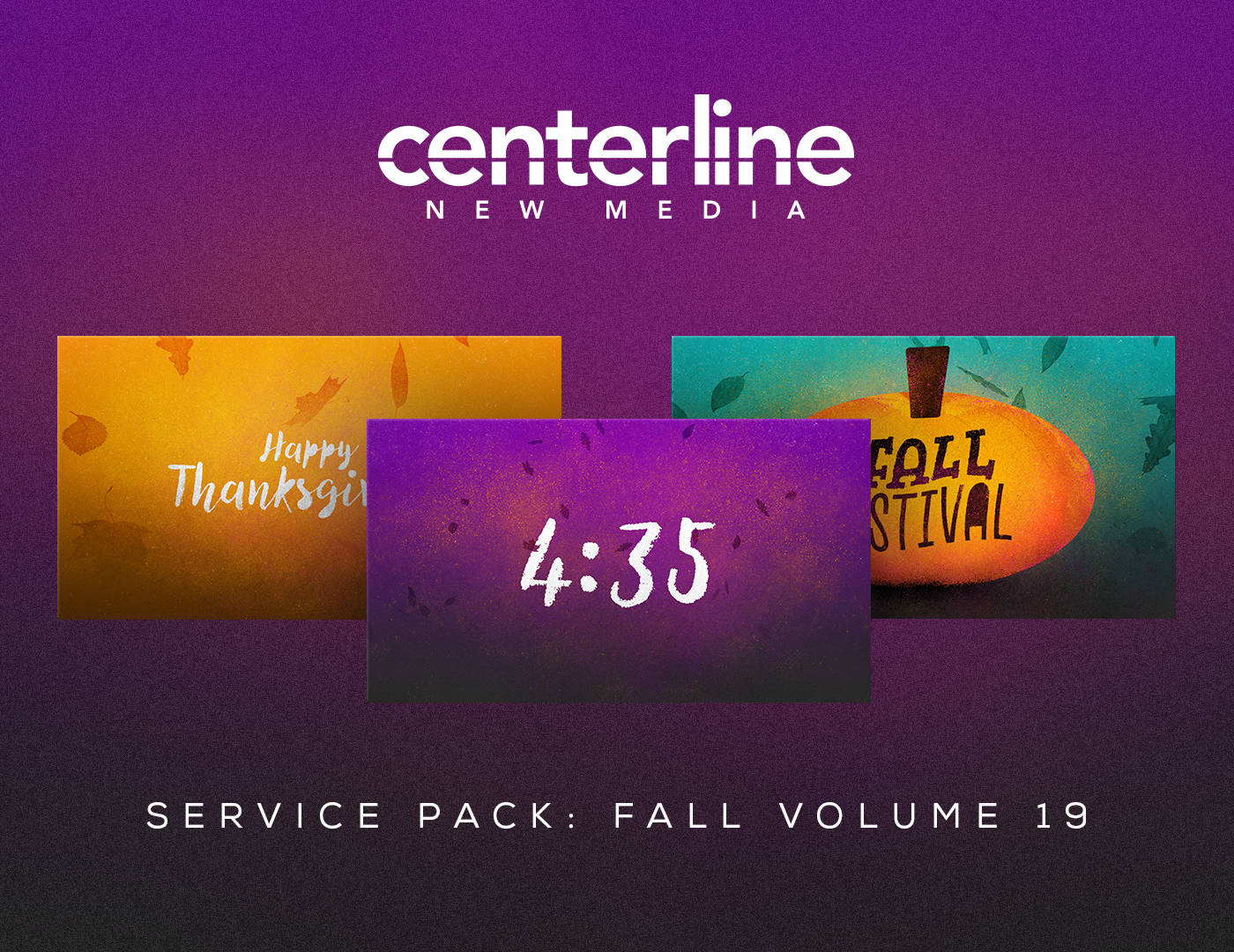 SERVICE PACK: FALL VOL. 19