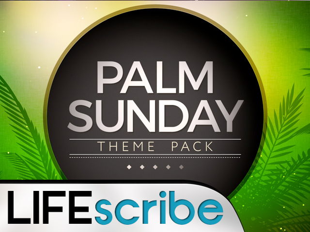 PALM SUNDAY VOL 2