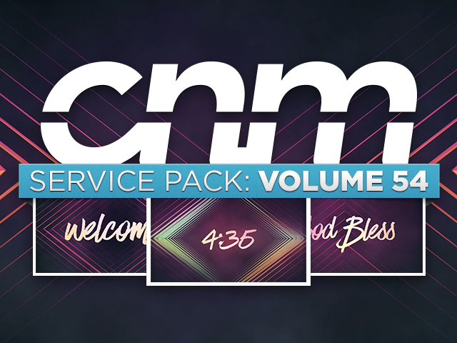 SERVICE PACK: VOLUME 54
