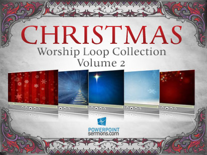 CHRISTMAS WORSHIP LOOPS, VOLUME 2