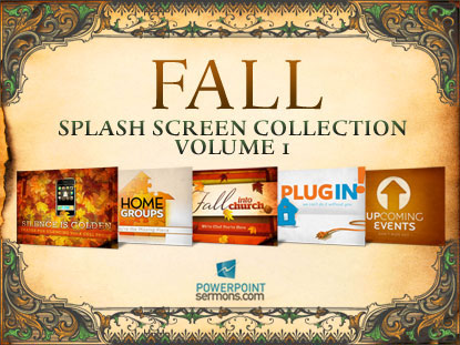 FALL SPLASH SCREENS, VOLUME 1