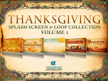 THANKSGIVING MOTION COLLECTION
