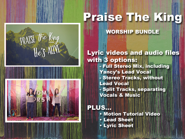 PRAISE THE KING WORSHIP BUNDLE