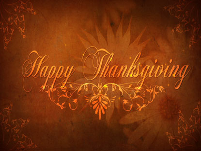 HAPPY THANKSGIVING MOTIONS