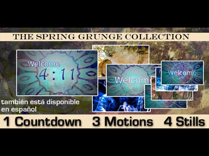 SPRING GRUNGE COLLECTION