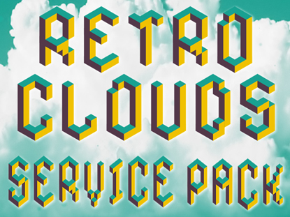 RETRO CLOUDS SERVICE PACK