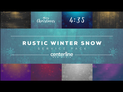 RUSTIC WINTER SNOW SERVICE PACK
