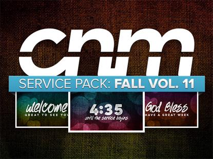 SERVICE PACK: FALL VOL. 11