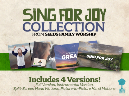 SING FOR JOY COLLECTION