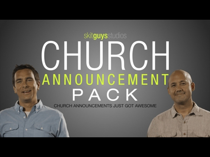 CHURCH ANNOUNCEMENT PACK