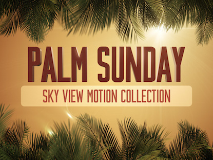 SKY VIEW PALM SUNDAY COLLECTION