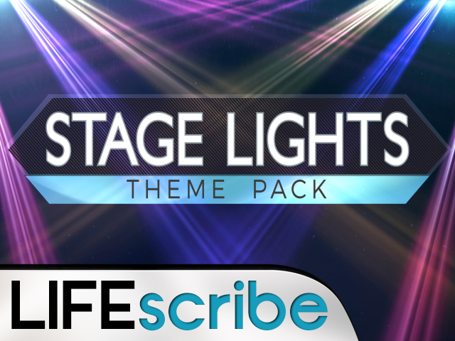 STAGE LIGHTS THEME PACK