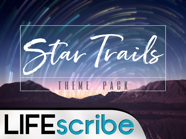 STAR TRAILS THEME PACK