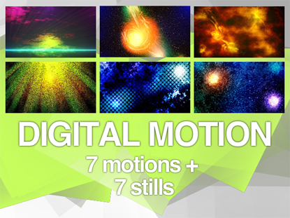 DIGITAL MOTION PACK