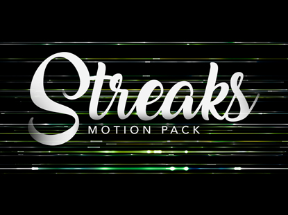 STREAKS MOTION PACK
