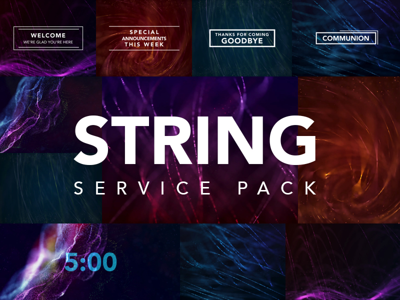 STRING SERVICE PACK