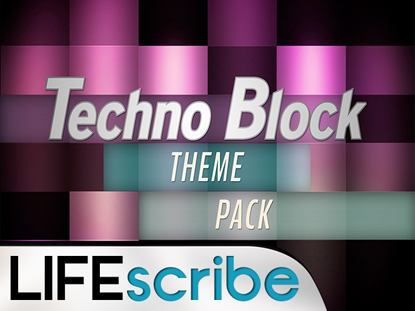 TECHNO BLOCK THEME PACK