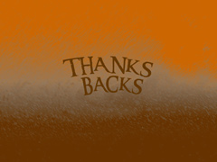 THANKS BACKS STANDARD COLLECTION