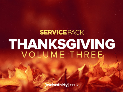 THANKSGIVING VOLUME 3: SERVICE PACK