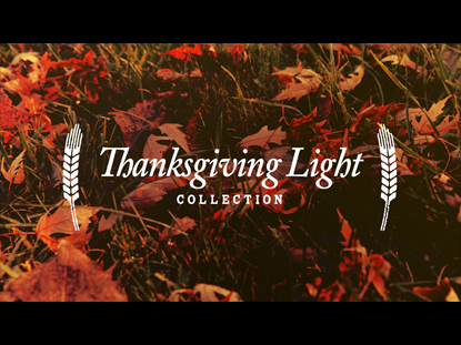 THANKSGIVING LIGHT COLLECTION