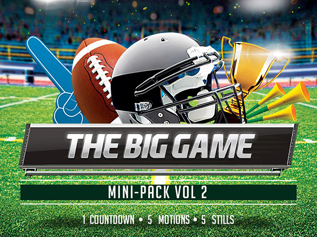 THE BIG GAME MINIPACK