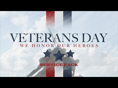 VETERANS DAY SERVICE PACK