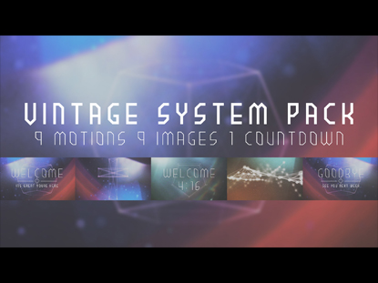 VINTAGE SYSTEM PACK