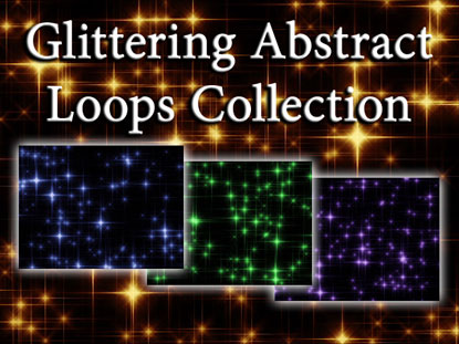 GLITTERING ABSTRACT LOOPS COLLECTION