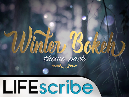 WINTER BOKEH THEME PACK