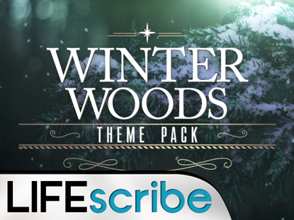 WINTER WOODS THEME PACK