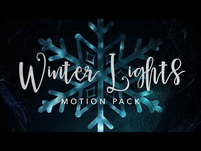 WINTER LIGHTS MOTION PACK