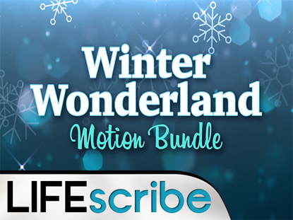 WINTER WONDERLAND MOTION BUNDLE