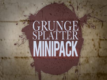 GRUNGE SPLATTER MINIPACK