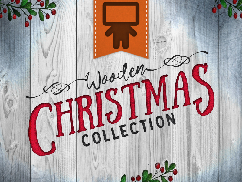 WOODEN CHRISTMAS COLLECTION