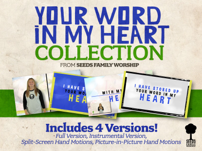 YOUR WORD IN MY HEART BUNDLE
