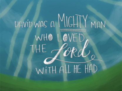 DAVID THE SHEPHERD BOY (Story Song)