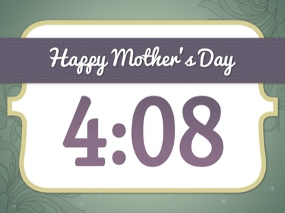 HAPPY MOTHER'S DAY COUNTDOWN 2