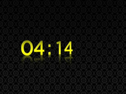 BLACK AND YELLOW COUNTDOWN