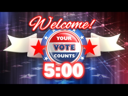 YOUR VOTE COUNTS COUNTDOWN