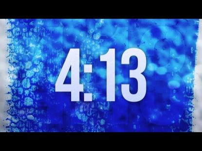 BLUE GRUNGE COUNTDOWN