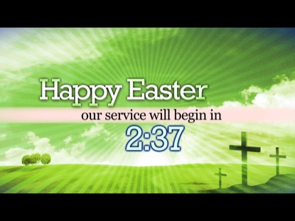 HAPPY EASTER COUNTDOWN