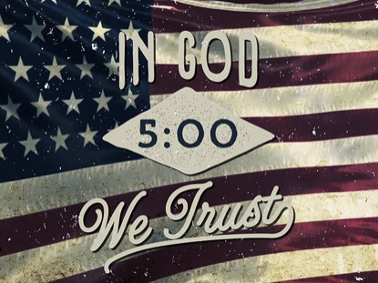 IN GOD WE TRUST COUNTDOWN