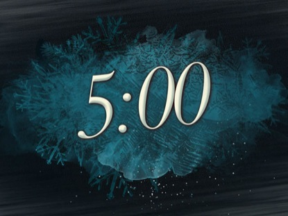 WINTER FREEZE COUNTDOWN TIMER