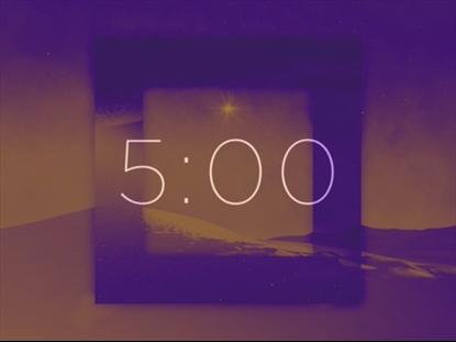 purple circle 5 minute timer pink goose media worshiphouse media