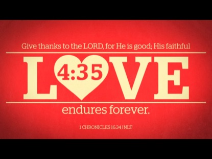 BIBLE VERSES OF LOVE COUNTDOWN