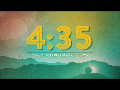 COLORFUL EASTER SUNDAY COUNTDOWN