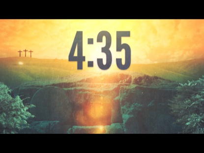EASTER MORNING SUNRISE COUNTDOWN