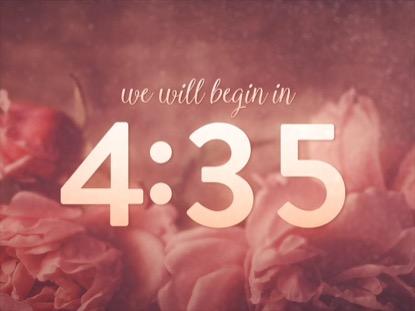 ELEGANT FLOWERS COUNTDOWN