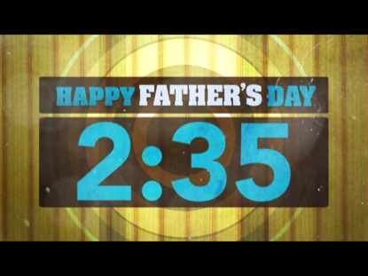HAPPY FATHER'S DAY COUNTDOWN